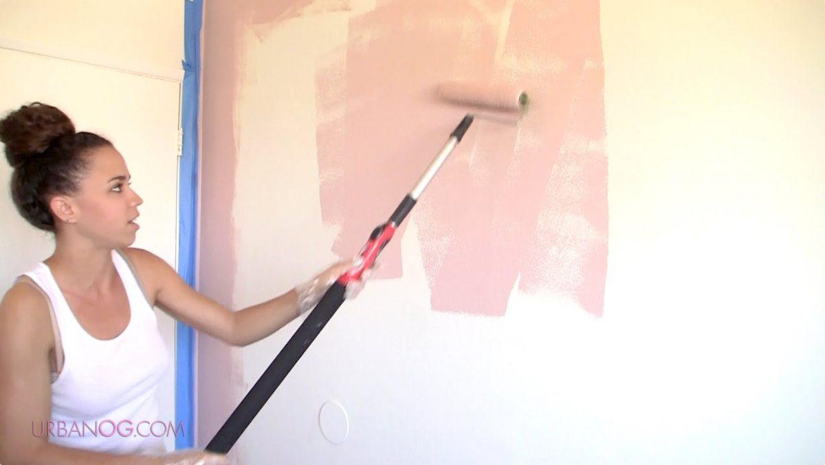 Beljenje oziroma barvanje sten prostorov