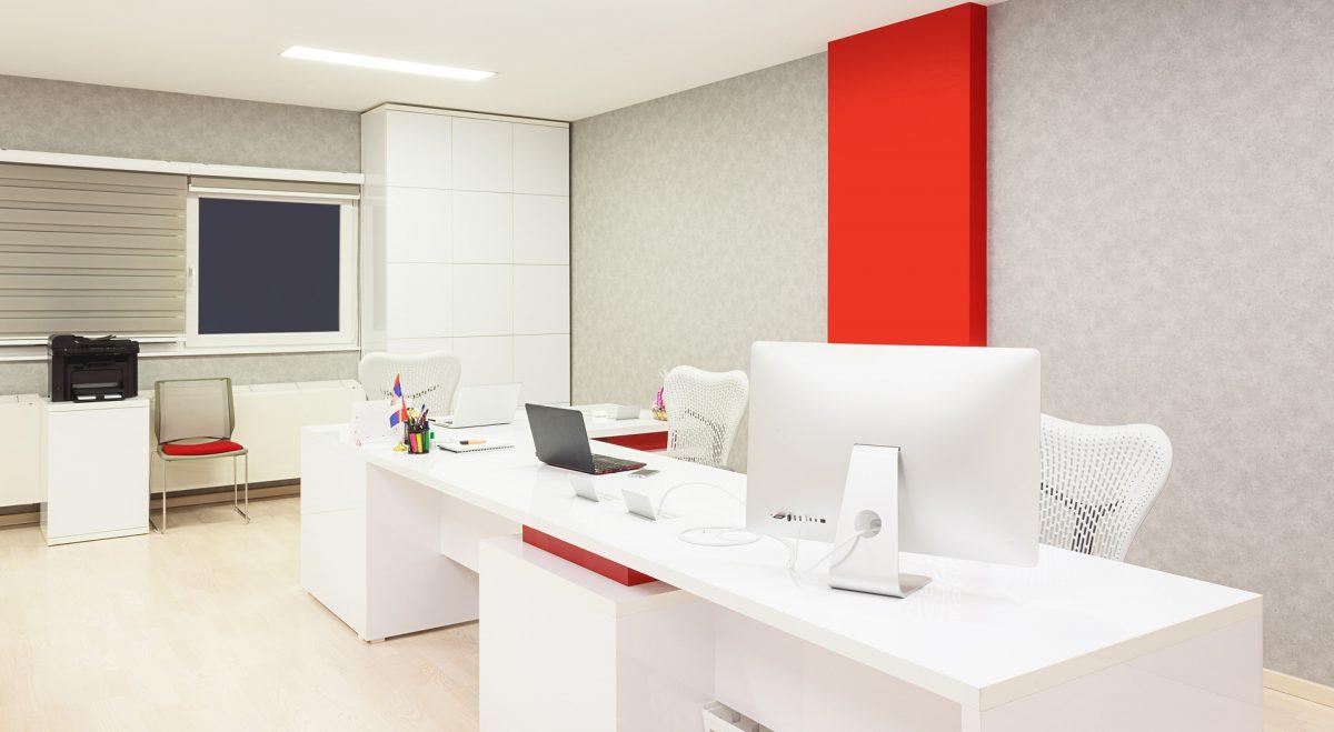 Pleskanje poslovnih prostorov